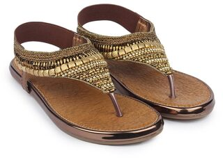 Do Bhai Copper Sandals
