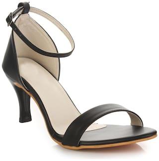 Do Bhai Black Heels