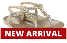 Do Bhai Golden Sandals