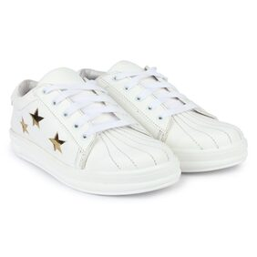 Do Bhai White Sneakers & Sports Shoes