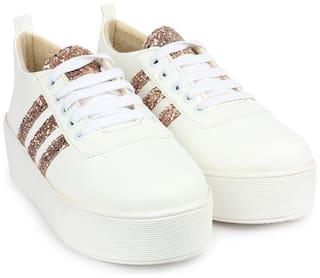 Do Bhai Women Copper Casual Shoes