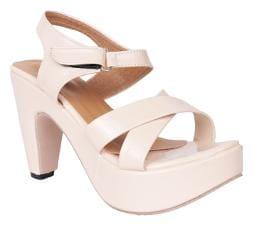 Do Bhai Cream Heels