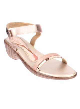 6460c5a458 Buy Do Bhai Women Pink One Toe Flats Online at Low Prices in India ...