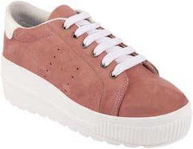 Do Bhai Women Tan Sneakers
