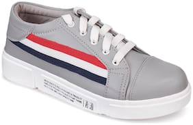 Do Bhai Women Grey Sneakers