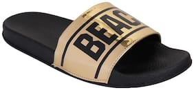 Do Bhai Women Gold Flipflops