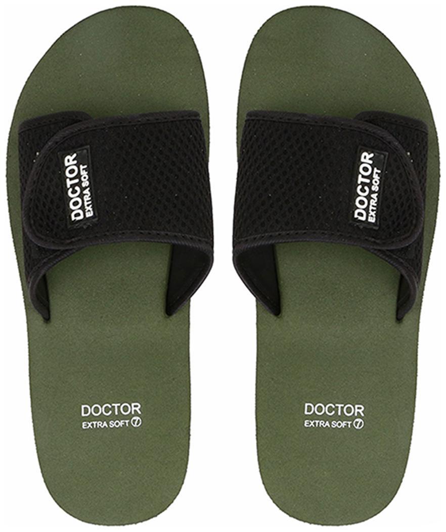 Men Diabetic & Orthopaedic Slippers ( Green )