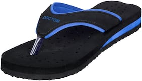 DOCTOR EXTRA SOFT Women Solid Slippers - Uk 8 , Blue