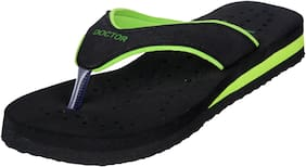 DOCTOR EXTRA SOFT Women Solid Slippers - Uk 7 , Green