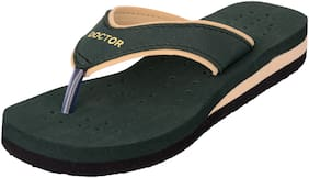 DOCTOR EXTRA SOFT Women Green Slippers