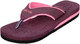 DOCTOR EXTRA SOFT Women Solid Slippers - Uk 8 , Pink