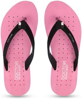 DOCTOR EXTRA SOFT Women Pink Flip Flops