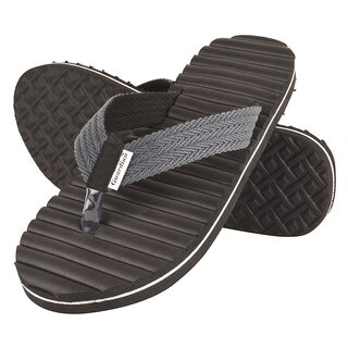 DRUNKEN Men Black Flipflop