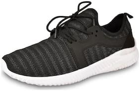 DRUNKEN Men Running Shoes ( Black )