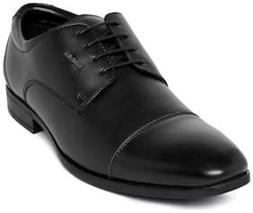 Duke Men Black Formal Shoes - Fwol514