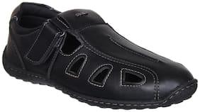 Duke Men Black Sandals