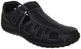 Duke Men Black Floaters -