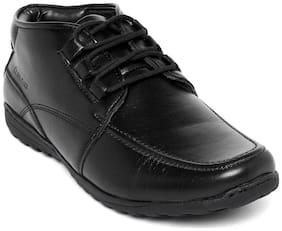 Duke Men's Black Ankle Boots