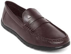 Duke Men Brown Loafers