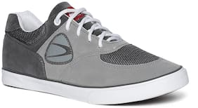Duke Men Grey;Black And White Casual Shoes