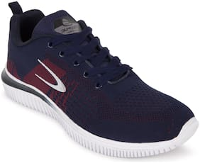Sports Shoes Running Shoes For Men ( Navy Blue )