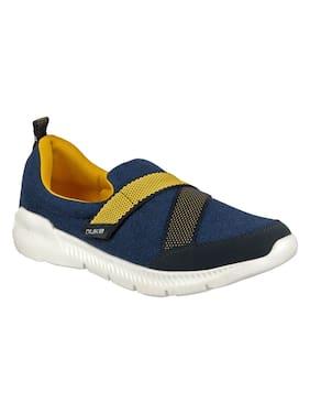 Duke Men Navy Blue Casual Shoes - Fwol1094
