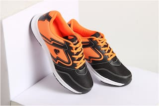 Duke Men Training/Gym Shoes ( Orange )