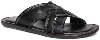 Duke Men Black Outdoor slippers