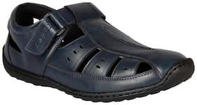 Duke Men'S Navy Sandal