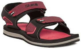 Duke Men's Red Synthetic Sandals & Floaters