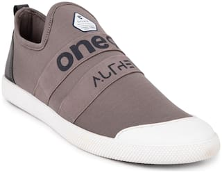 Duke Men Grey Casual Shoes - Fwol531