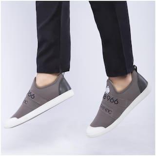 Duke Men Grey Casual Shoes - CASUAL SHOES - FWOL531