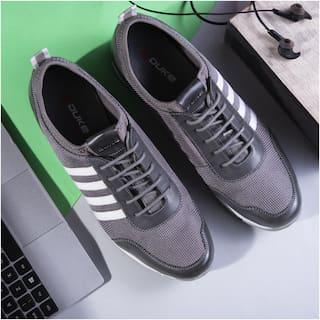 Duke Men Casual Shoes Running Shoes ( Grey )