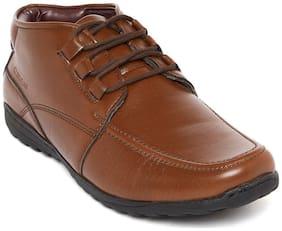 Duke Men's Tan Ankle Boots