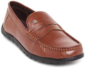 Duke Men Tan Loafers