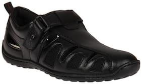 Duke Mens Black Casual Shoes