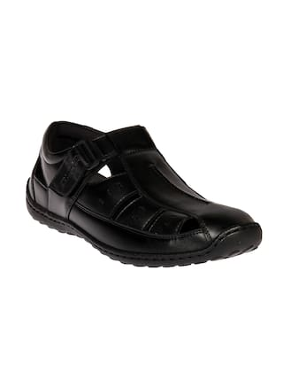 f1d99a24db9 Buy Duke Men Black Sandals   Floaters Online at Low Prices in India ...
