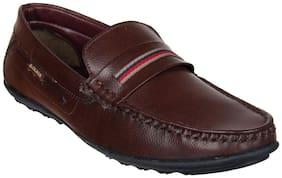 Duke Mens Brown Loafers