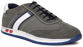Duke Men Grey Casual Shoes