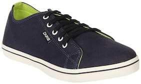 Duke Mens Navy Canvas