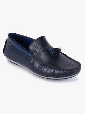 Loafers For Men ( Navy Blue )