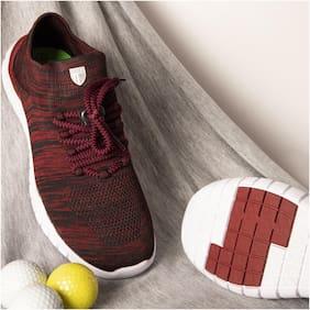 Duke Men Running Shoes ( Red )