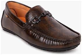 Duke Men Brown Loafer - Loafers