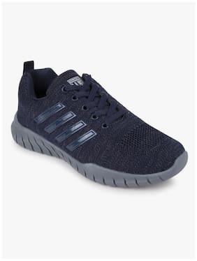 Duke Men Sports Shoes Running Shoes ( Navy Blue )