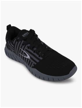 Duke Men Sports Shoes Training/Gym Shoes ( Black )