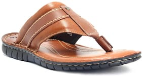E-Lyte Tan Leather Sandal