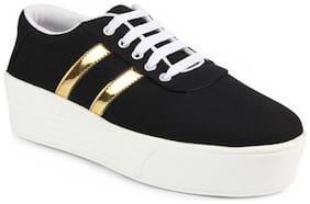 Earton Women Black Casual Shoes