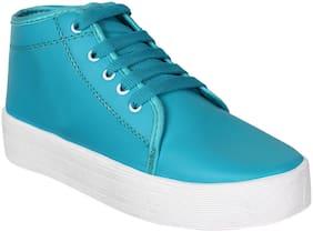 Earton Women Blue Sneakers