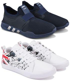 Earton Men Multi-Color Casual Shoes - COMBO(MR)-1730-1183