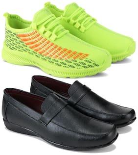 Earton Men Multi-Color Casual Shoes - COMBO(MR)-1735-3030